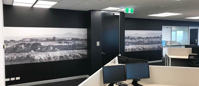 BGIS internal signage by Compac Marketing Australia
