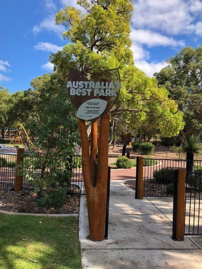 Kwinana Adventure Park Signage by Compac Marketing Australia