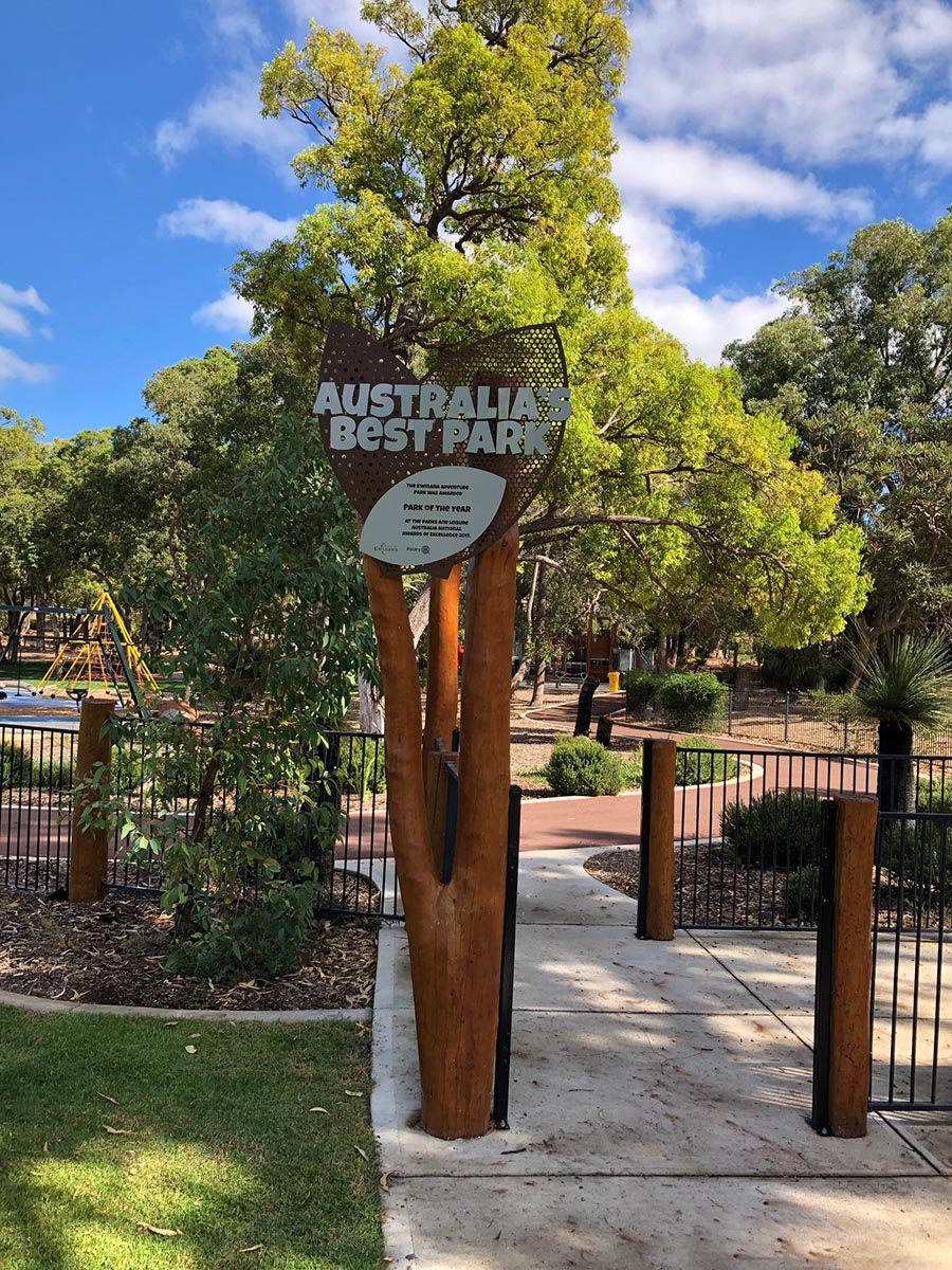 Kwinana Adventure Park Signage by Compac Marketing Australia