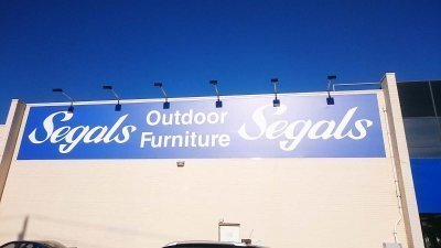 Seagals premises signage by Compac