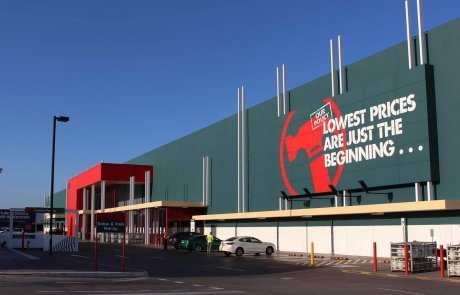 bunnings warehouse wa signage by compac