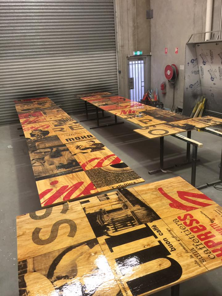 Signage by Compac for Macchinetta DFO Perth