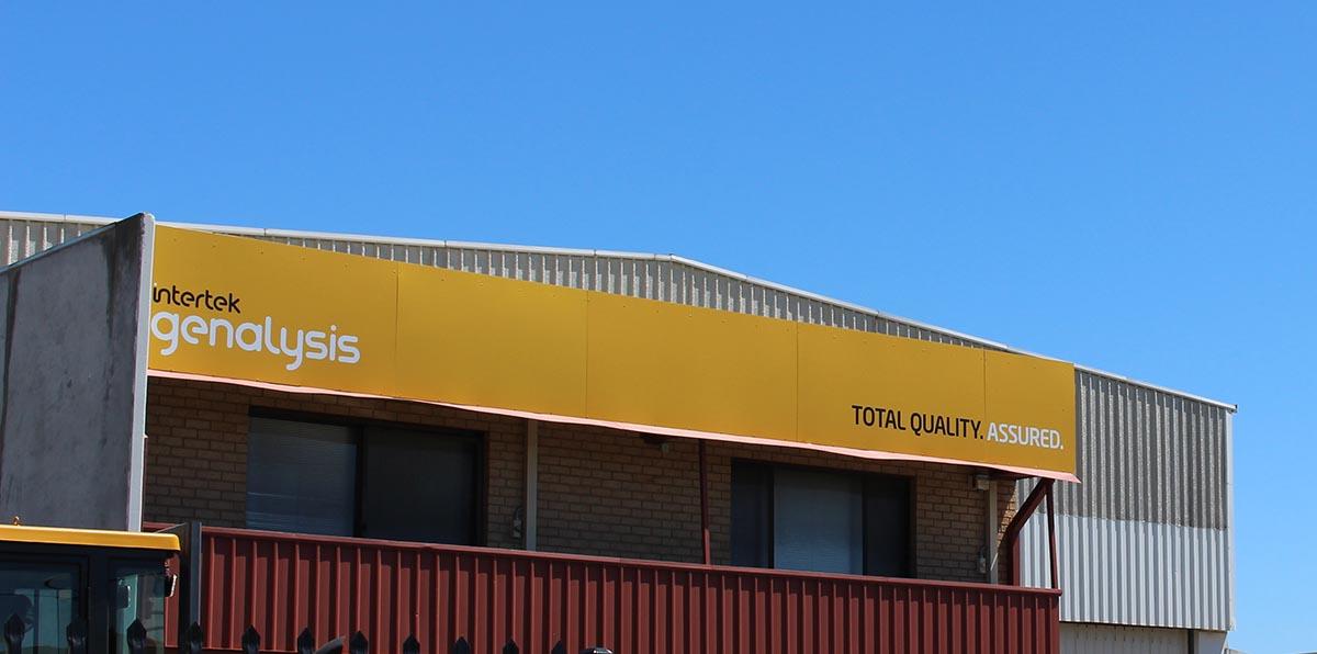 Intertek premises signage by Compac