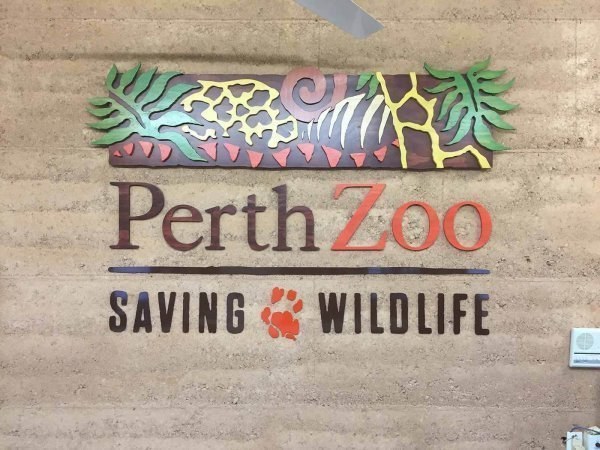 perth zoo signage by compac