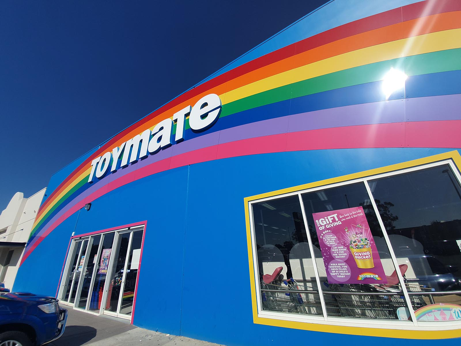 acm cladding at Toymate by compac | perth signs
